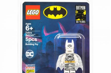 Zebra Batman – Comic Con